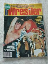 THE WRESTLER-12/76 BRUNO vs BRODY! FUNK vs LAWLER! HEENAN! ROBINSON! BEAU JAMES!