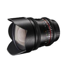 Walimex Pro 10mm 1:3,1 VCSC-Weitwinkelobjektiv für Sony A Bajonett schwarz