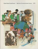 United States Postal Service 1979 Commemorative Stamp Collection Complete Set