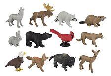 Nature Toob/Safari Ltd/toob/685804/toy deer/bear/beaver/raccoon/moose/wolf/more