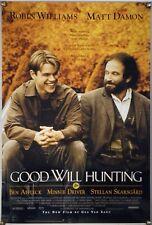 Good Will Hunting Rolled Orig 1Sh Movie Poster Robin Williams Matt Damon (1997)