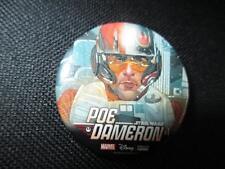 Button Pinback Badge Rare Poe Dameron Star Wars Promo