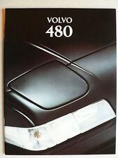 Prospekt Volvo 480 (480 S, Turbo), 1995, 28 Seiten