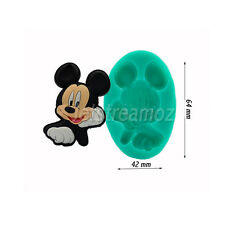 Mickey Mouse cake fondant icing soap chocolate ice resin silicone mould