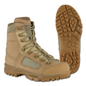 New LOWA British Army Issue Desert Combat Hiking Boots Size 5 UK