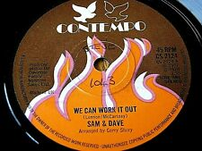 "SAM & DAVE - WE CAN WORK IT OUT  7"" VINYL"