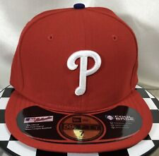 Original New Era 59Fifty MLB Philadelphia Phillies Cool Base Fitted Hat