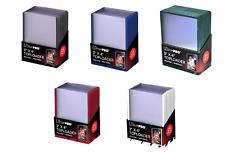 (125) Ultra Pro Green Red White Blue Black Border Color Assortment Toploaders
