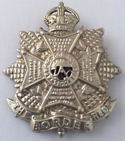 The Border Regiment Cap Badge British Army Military