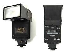 Sunpak 333 344 422 933 ...Flash Minolta X700 Pentax K1000 Canon AE1 A1 Grab Bag