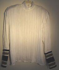 Vintage Blouse Darlene Gaydas Couture I. Magnum Design Studio SZ S-L Circa 1989