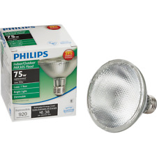 Philips EcoVantage 75W Equivalent Medium Base PAR30S Short Neck Halogen