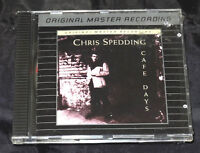 Cafe Days by Chris Spedding Sealed Cd Disc 1992 MFSL MFCD 752