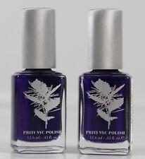 Priti NYC Blue Sage #367 Veilchenblau Nail Color Nagellack Set 2 x 12,6ml SI-367