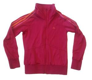 Adidas Hot Pink Jacket Girls Youth 13-14