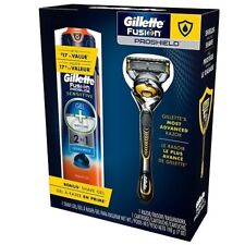 Gillette Fusion Proshield Razor and Shave Gel Kit