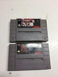 joblot Snes Super Nintendo Contra III 3 The Alien Wars + 1 other US NTSC