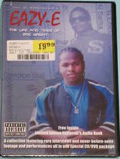 Eazy-E Life dvd + cd N.W.A. Ice Cube Dr. Dre Easy NWA Bone Thugs Harmony Rap NEW