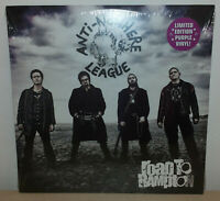 ANTI NOWHERE LEAGUE - ROAD TO RAMPTON - PURPLE MARBLED - LP