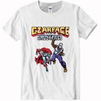 Czarface & Ghostface killah Gildan White T-shirt size S to 2XL