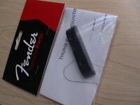 FENDER ORIGINAL PRECISION & JAZZ BASS BLACK PLASTIC THUMB REST PN 099-2036-000
