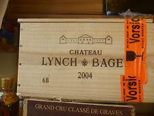 Chateau Lynch Bages 2004 Grand Cru (6 Bottle OHK)