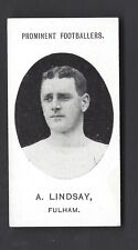 More details for taddy - prominent footballers (no footnote) - a lindsay, fulham