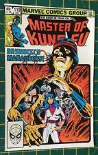 Shang-Chi, Master of Kung Fu #119 - Marvel Comics - December 1982 FN/VFN