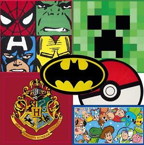 Official Licensed Character Shaped Rug Boys Girls Matches Bedding Rugs Minecraft