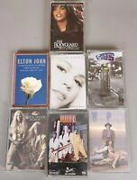Lot of 7 Cassette Tapes 90s Whitney Houston Mariah Carey Wilson Phillips Heavy D