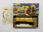 HO Vintage Built Athearn 3 Dome Shell Tanker Sprung Trucks & KD Couplers (999)