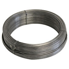 More details for fencing line wire 2mmx50m tensioning straining galvanised steel metal wire 14g