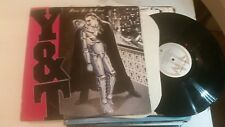 Y&T Down For The Count 1985 LP vinyl Summertime Girls Y & T Yesterday And Today!