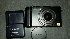 Panasonic LUMIX DMC-LX3 10.1MP Digitalkamera - Schwarz