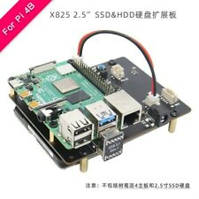 Raspberry Pi 4B X825 2.5 Inch SATA SSD & HDD Expansion Board NAS Support USB 3.0