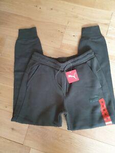 Unisex Mens Puma Paragon Pants Joggers Forest Green / Khaki Size M