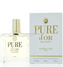 Pure D'OR By Karen Low For Women  Eau De Parfum 3.4 OZ 100 ML Spray