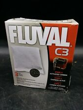 Fluval Activated Carbon Replacement Media for Fluval C3 Power Filter 3-Pack (D2)