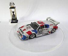 BMW M1 #52 WHURT Le Mans 1981 Built Monté Kit 1/43 no spark minichamps