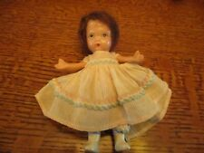 """5"""" Nancy Ann Storybook Doll - Molded Stockings & Jointed Legs"""