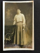 Vintage Postcard - RP Anonymous Women - #238
