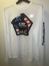 New Balance Men's Army Ten-Miler 2007 Long Sleeve White XLarge Shirt