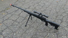 Well MB11D Full Metal Bolt Action Airsoft Sniper w/ Scope and Bipod