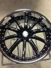 "22"" x 9.5  Maas 551c wheel 5 x 115 charger 300 magnum only 1 wheel"