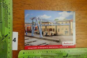 Alter Aufkleber Modellbau Modellbahn Gebäude Zubehör AUHAGEN 11 437