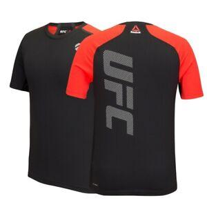Reebok UFC Men's Black Training Short Sleeve T-Shirt S95177