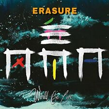 ERASURE - WORLD BE LIVE  2 CD NEU