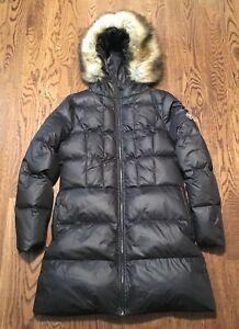 Puffa Down Jacket Coat Womens XL 16 Puffer Original Duvet Fearn Parka British