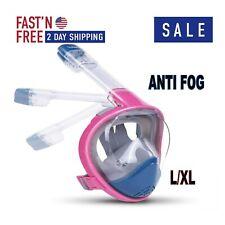 Full Face Snorkel Mask Scuba Diving Swimming Easy Breath Underwater Anti Fog