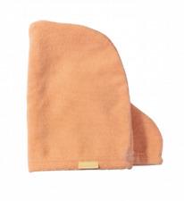 BIRCHBOX PEACH SMALL SIZE MICROFIBRE HAIR WRAP TOWEL TURBAN